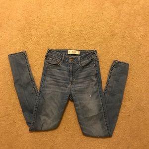 Hollister Super Skinny High Rise Jeans